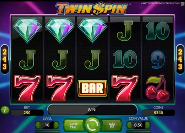 Twin Spin Slot Machine - Play Twin Spin Slot Online for Free