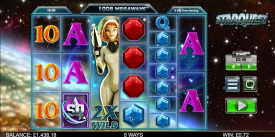 Starquest Slot Machine - Try the Online Game for Free Now