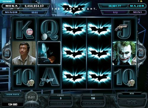 Batman™ Slot Machine Game to Play Free in Cryptologics Online Casinos
