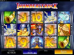 Thunderstruck Mobile Pokies Game