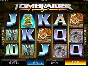 Tombraider Best iPhone & Mobile Pokies