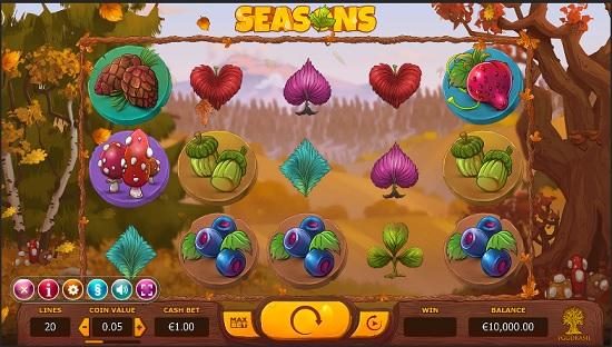Seasons Slot - Play Free Yggdrasil Gaming Slots Online