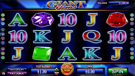 Giant Gems Slots - Free Online Casino Game by NextGen