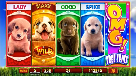 Play No Download Puppy Love Slot Machine Free Here