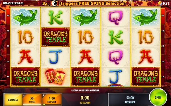 Dragons Temple Slot Machine - Now Available for Free Online
